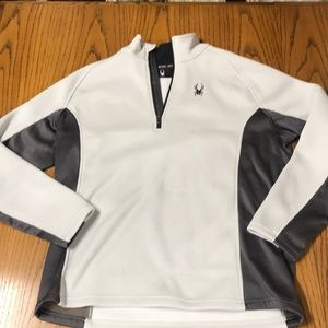 Spyder 1/2 zip jacket fleece Xl